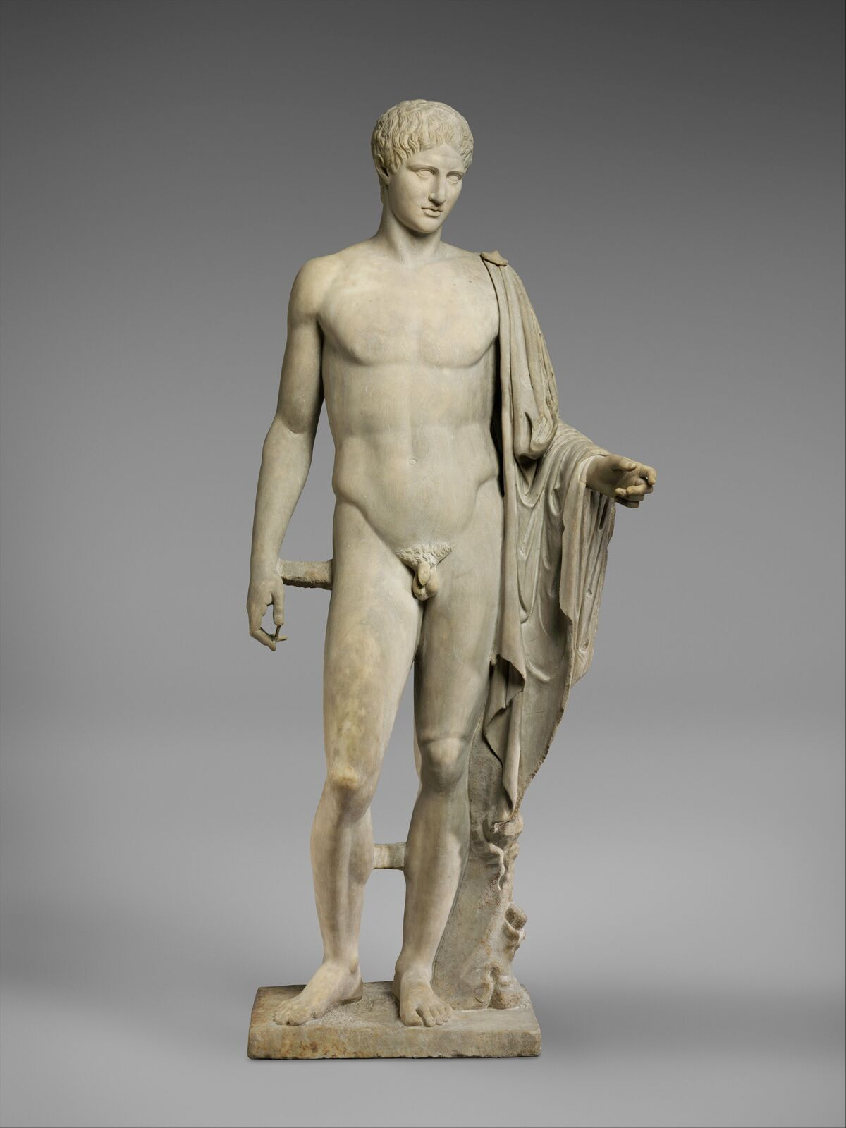 Copy of work attributed to Polykleitos, 1st or 2nd century A.D., via the Metropolitan Museum of Art.
