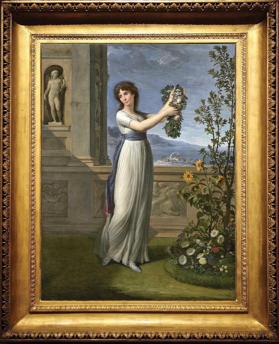 Andrea Appiani, Josephine Bonaparte Crowning the Myrtle Tree, 1796. Courtesy of Robilant + Voena.