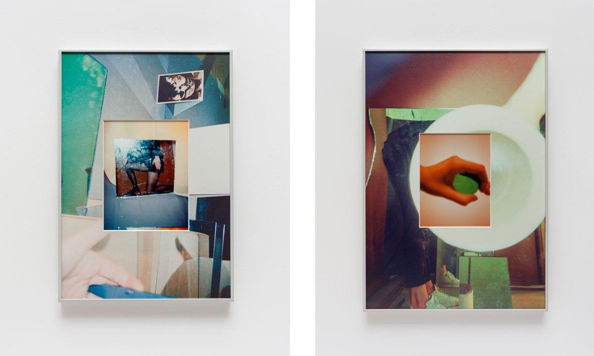 B. Ingrid Olson,Mutilation, self delay, 2016. Photos courtesy of Simone Subal Gallery.
