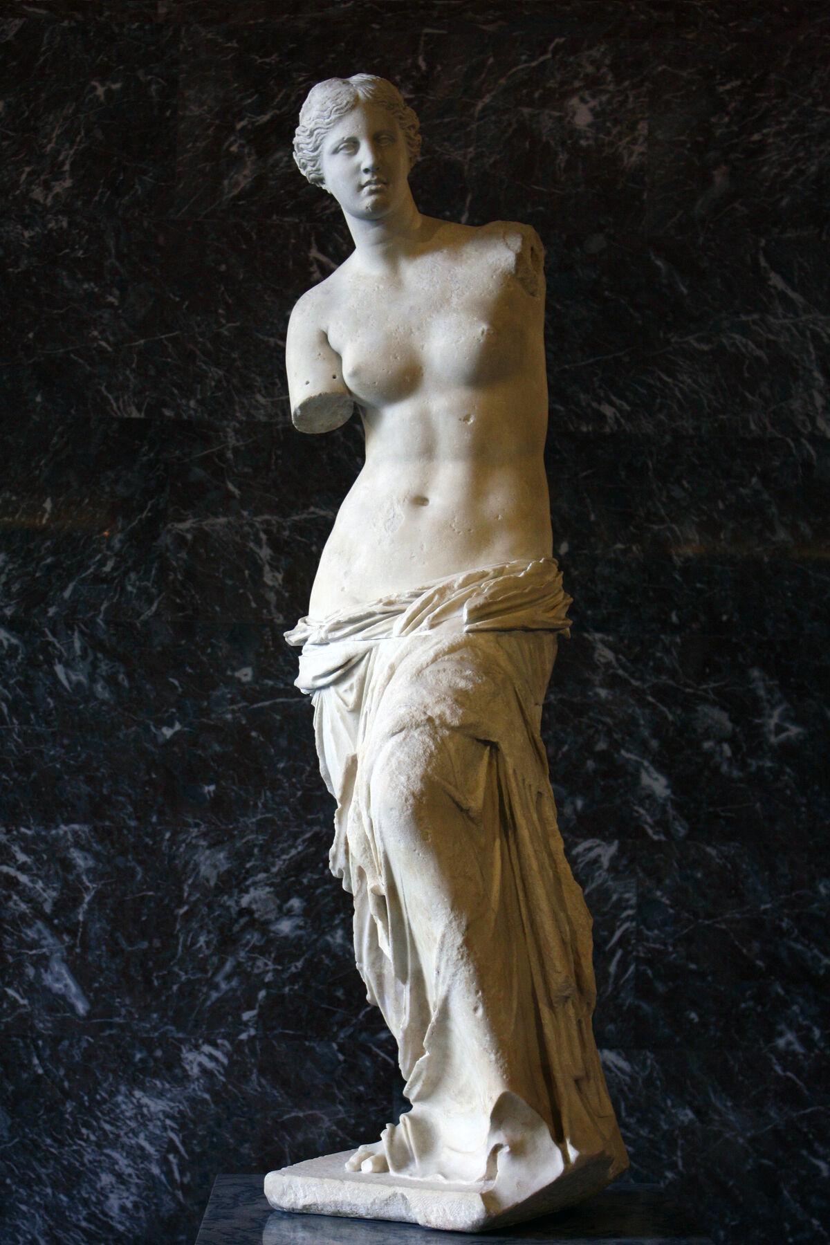 Alexandros of Antioch, Venus de Milo, 130-100 B.C. Photo via Wikimedia Commons.
