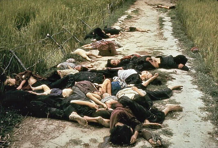 Ronald L. Haeberle, My Lai Massacre, 1968. Image via Wikimedia Commons.