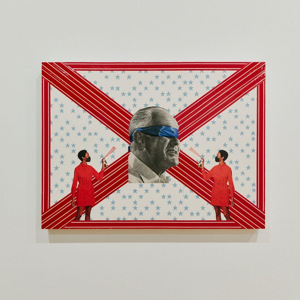 Genevieve Gaignard, Disinfect Our Politics, 2020. © Genevieve Gaignard. Courtesy of the artist and Vielmetter Los Angeles.