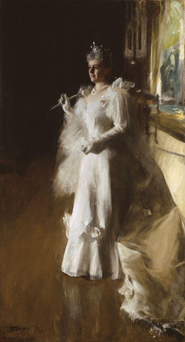 Zorn Anders, Sra. Potter Palmer, 1893. Cortesía del Instituto de Arte de Chicago.