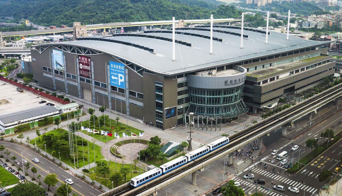 Nangang Exhibition Center, Taipei. Photo courtesy of the Nangang Exhibition Center.