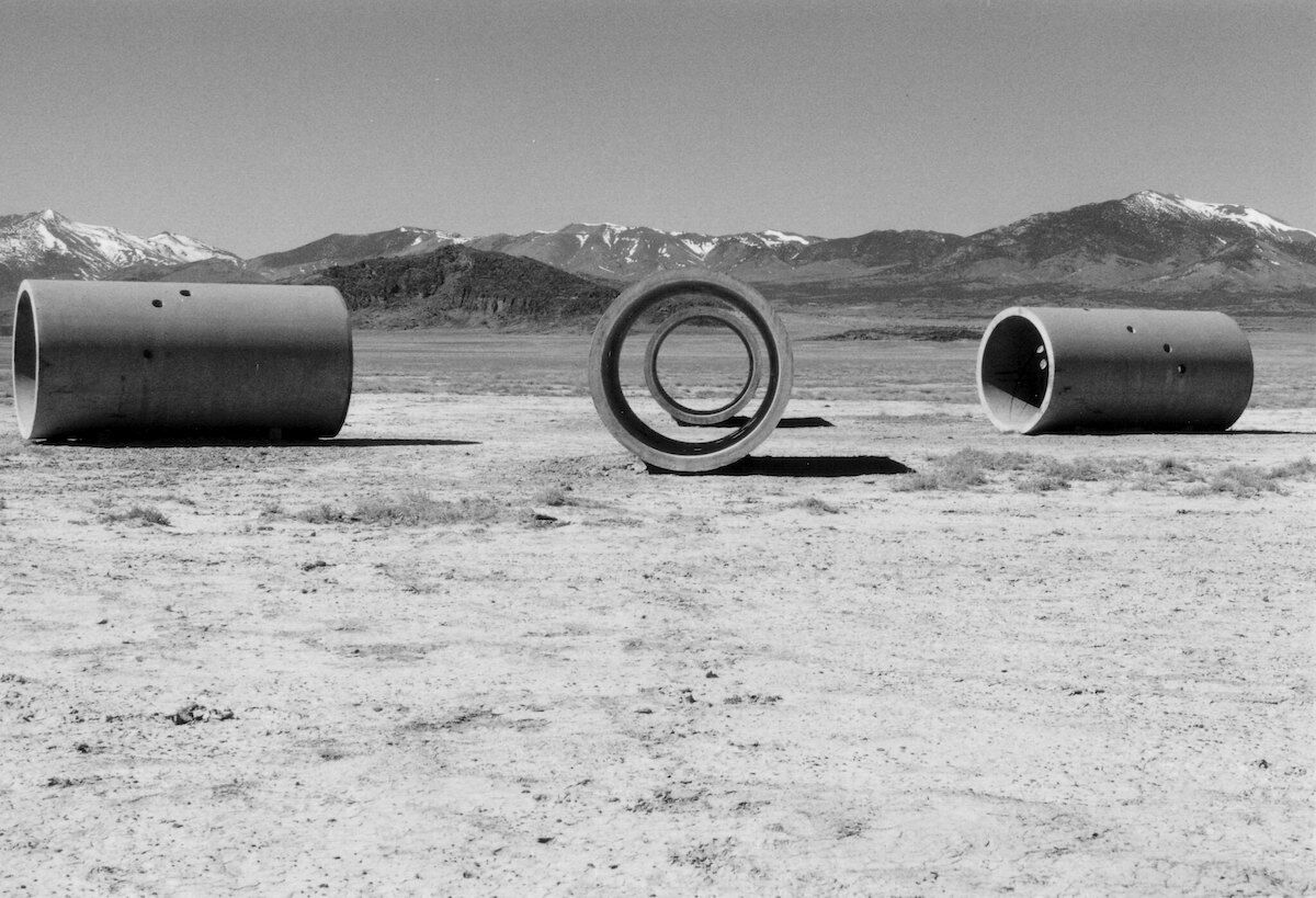 Nancy Holt, Sun Tunnels, 1973-1976. Photo by Retis via Flickr.