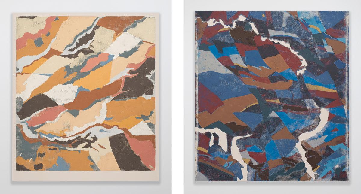 Left: Kour Pour, Vanilla Mochi, 2016; Right: Kour Pour, Paris Syndrome, 2016. Images courtesy of the artist and Feuer/Mesler, New York.