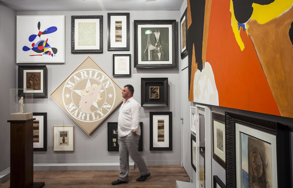 Installation view ofGalerie Gmurzynska's booth at Art Basel in Miami Beach, 2015.Photo byOriol Tarridas for Artsy.