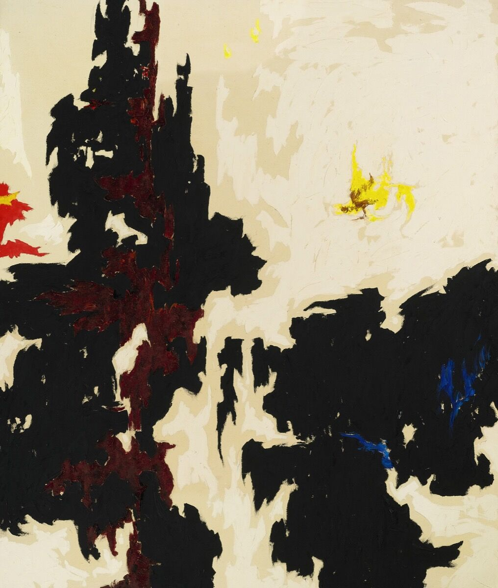 Clyfford Still, 1947-Y-No. 2. Courtesy of Sotheby's.