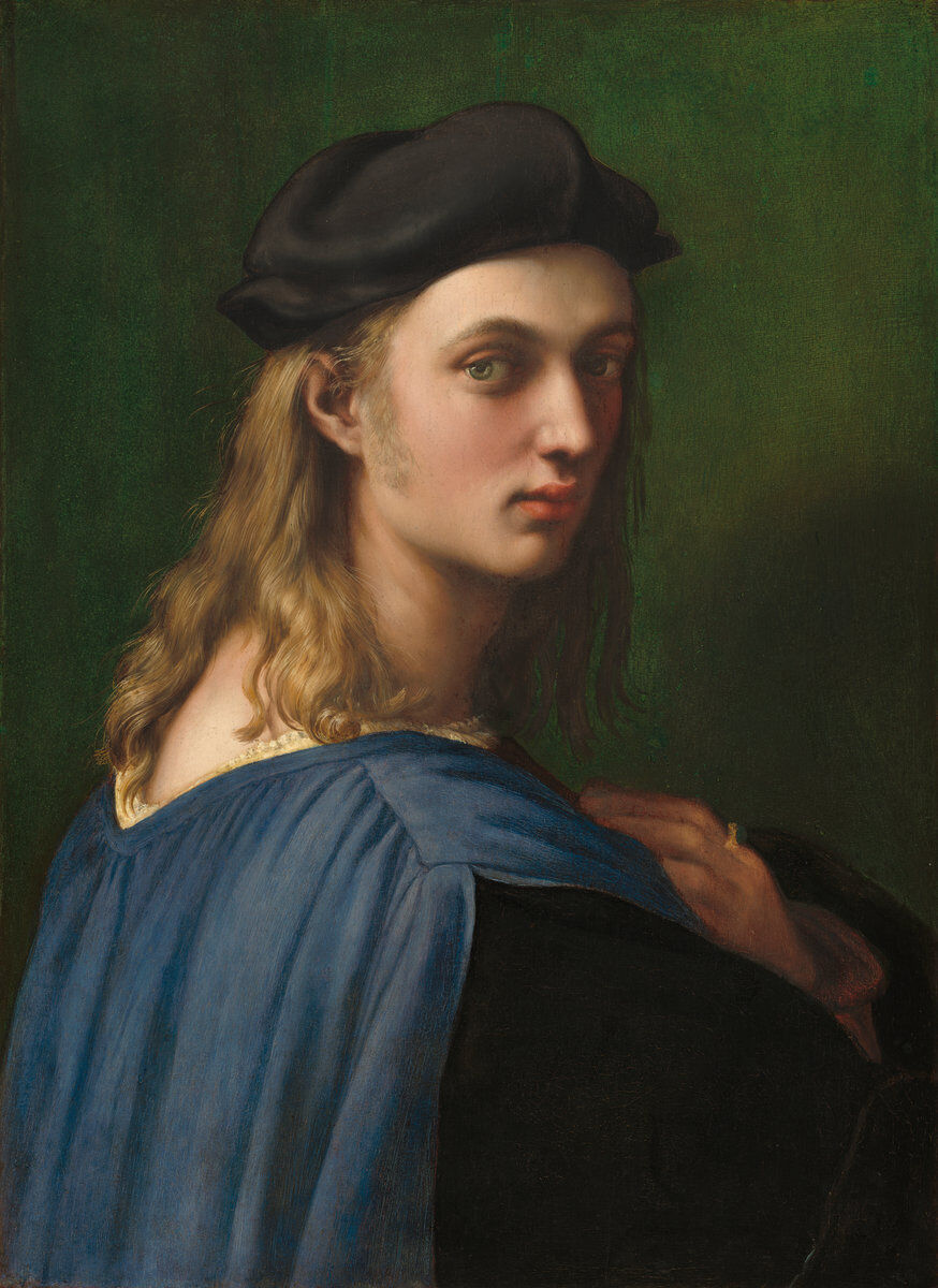Raphael,  Bindo Altoviti,  1515. Courtesy of the National Gallery of Art.