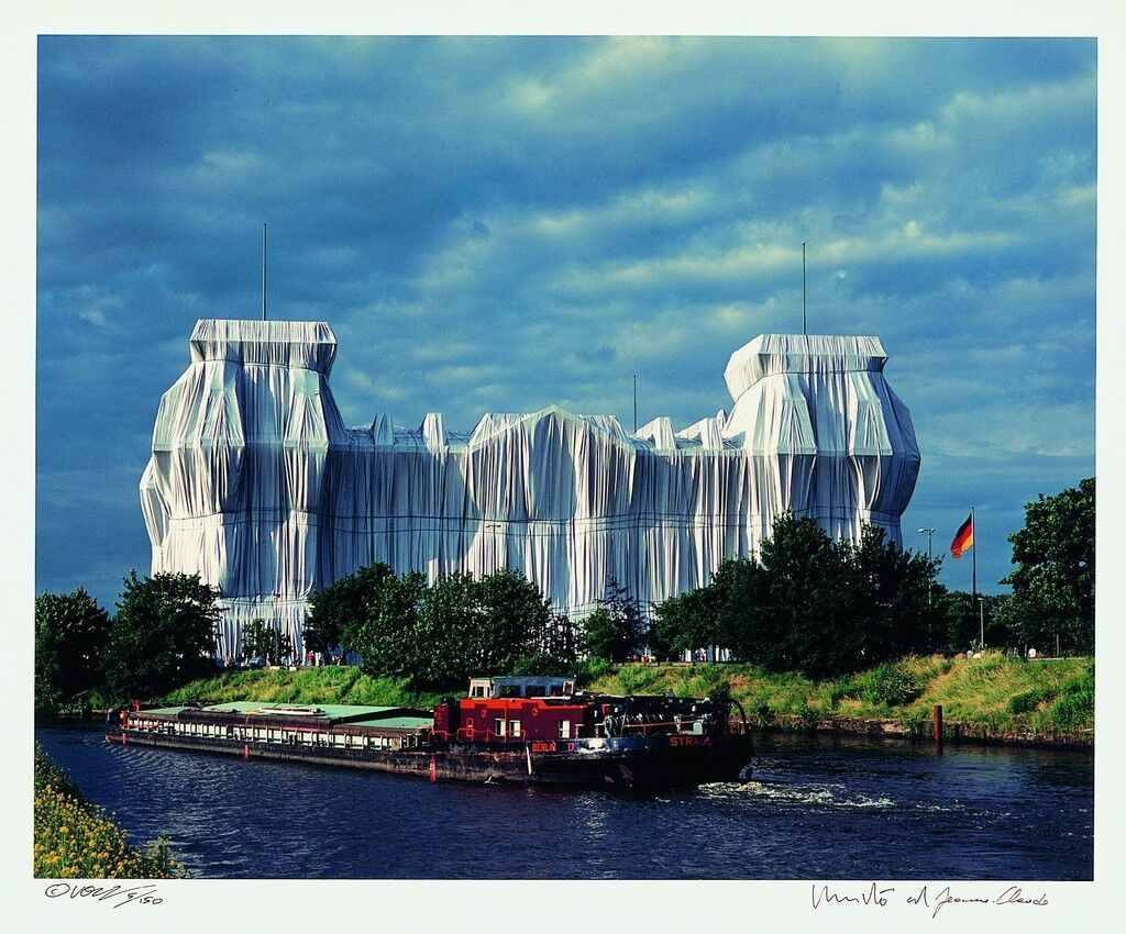 Christo and Jeanne-Claude, Reichstag Mappe II (6), 1995.