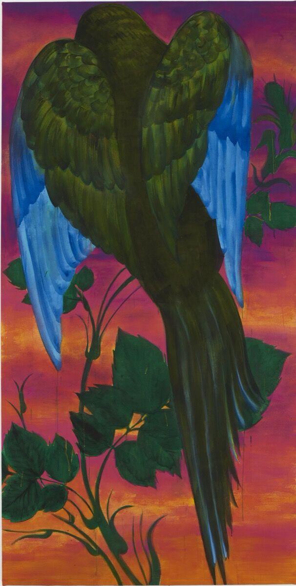 Iman Raad, Pensive Bird in the Dusk, 2020. © Iman Raad. Courtesy of Dastan's Basement.