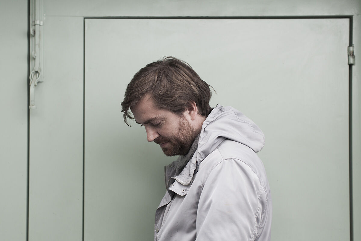 Portrait of Mario Pfeifer in Mexico City by Ana Hop for Artsy.