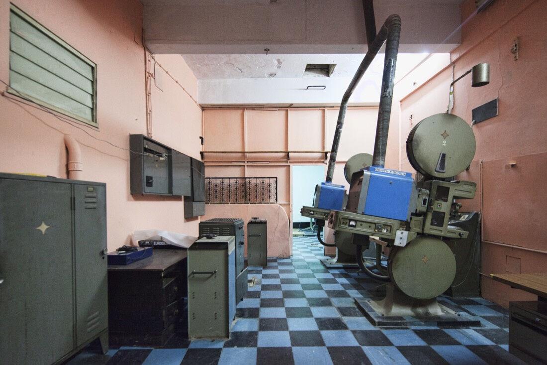 Filipe Branquinho,Interior Landscapes (Cine teatro Scala, sala de projecção), 2013. Image courtesy of the artist.