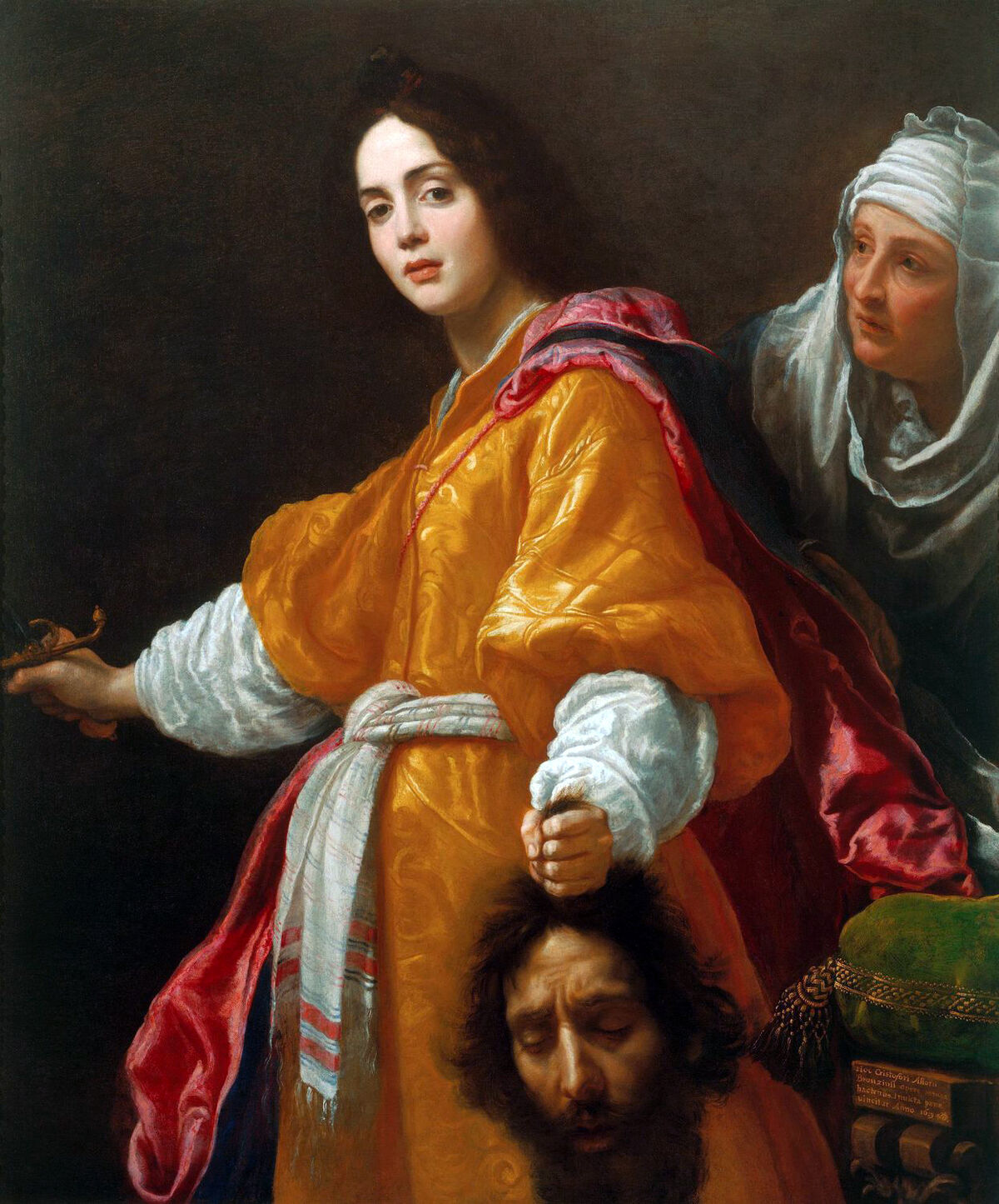 Cristofano Allori, Judith with the Head of Holophernes, 1613. Image via Wikimedia Commons.