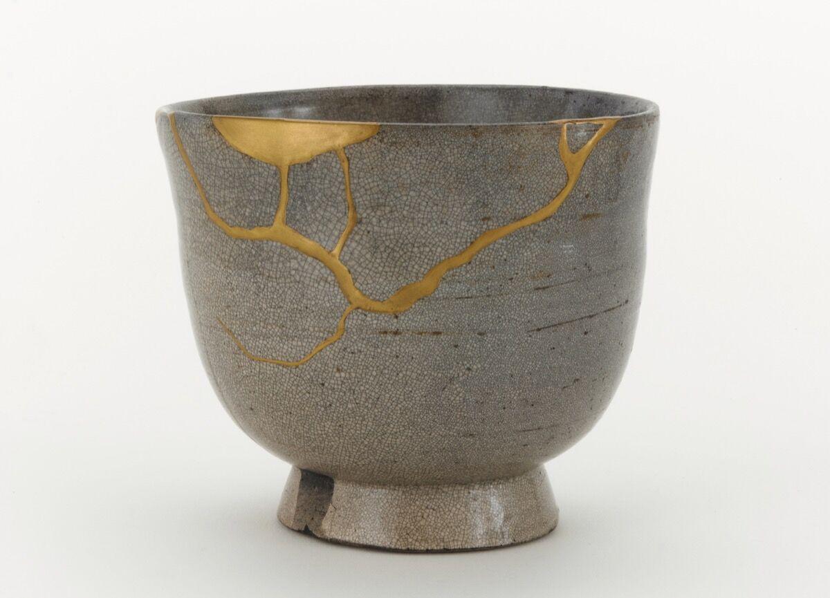 Tea bowl, White Satsuma ware, Japan, Edo period, 17th century. Courtesy of Freer Sackler, Smithsonian.