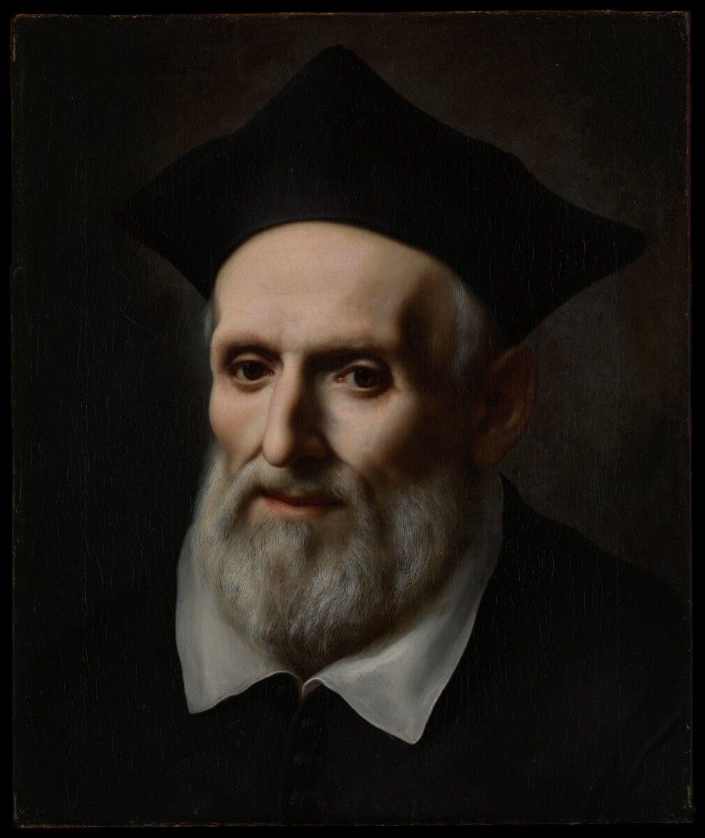 Carlo Dolci, Saint Philip Neri, 1645 or 1646. Courtesy of The Metropolitan Museum of Art.