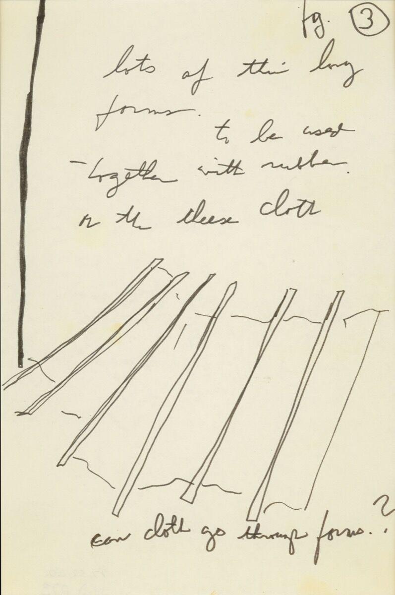 Eva Hesse, No title , 1969. © The Estate of Eva Hesse. Courtesy of Hauser & Wirth.