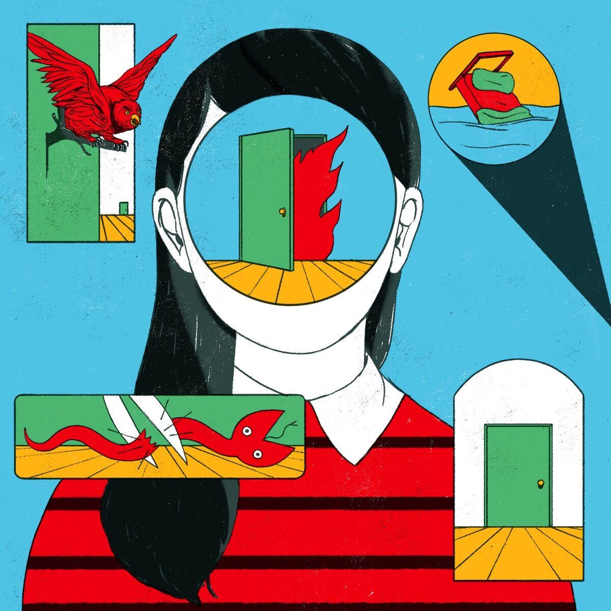 Cristina Daura, Illustration for the project #BorraelSida with PlayGround magazine and La Fundació Lluita contra el Sida. Courtesy of the artist.