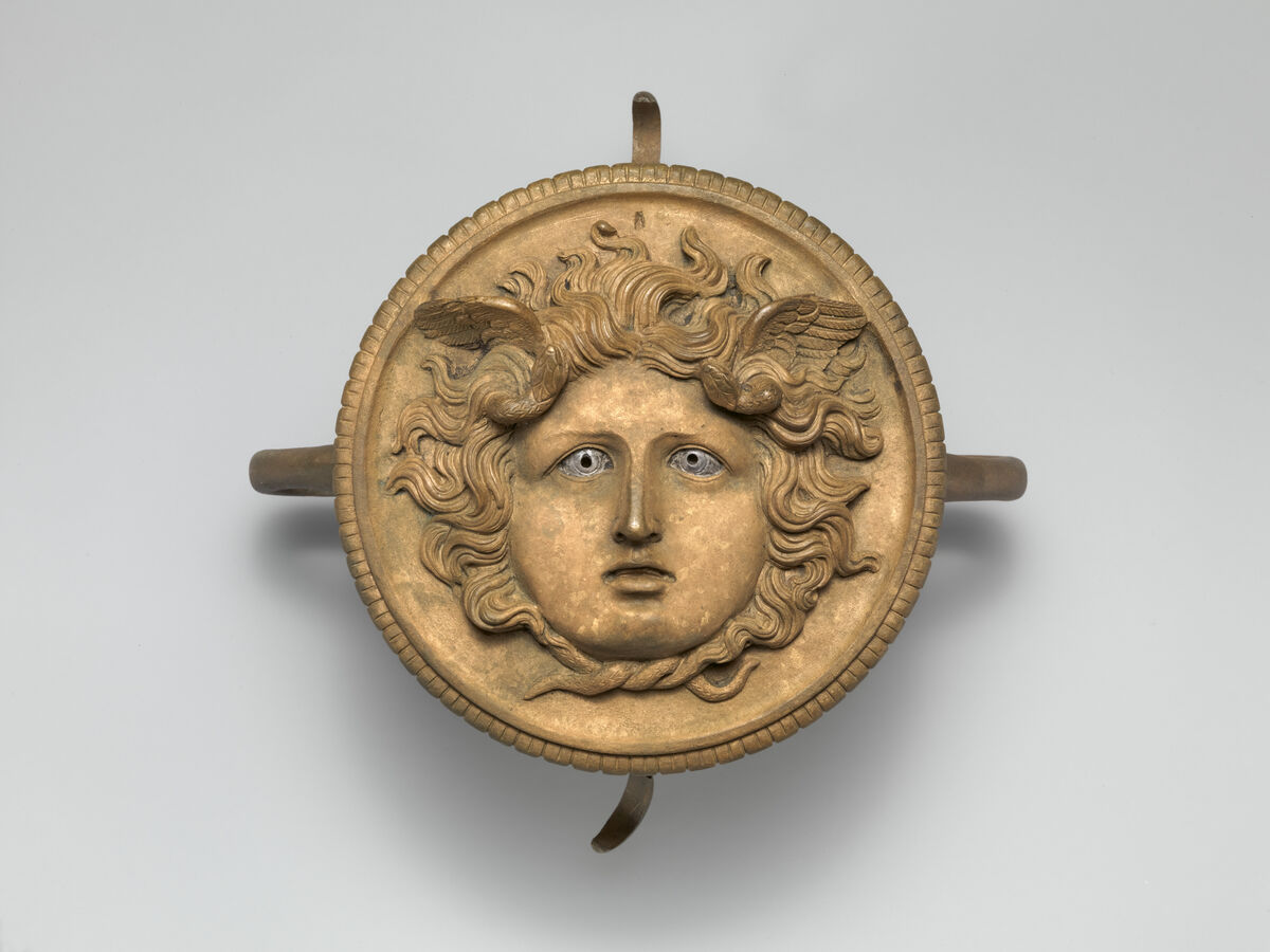 Bronze ornament from a chariot pole, 1st-2nd century A.D. Courtesy of The Metropolitan Museum of Art.