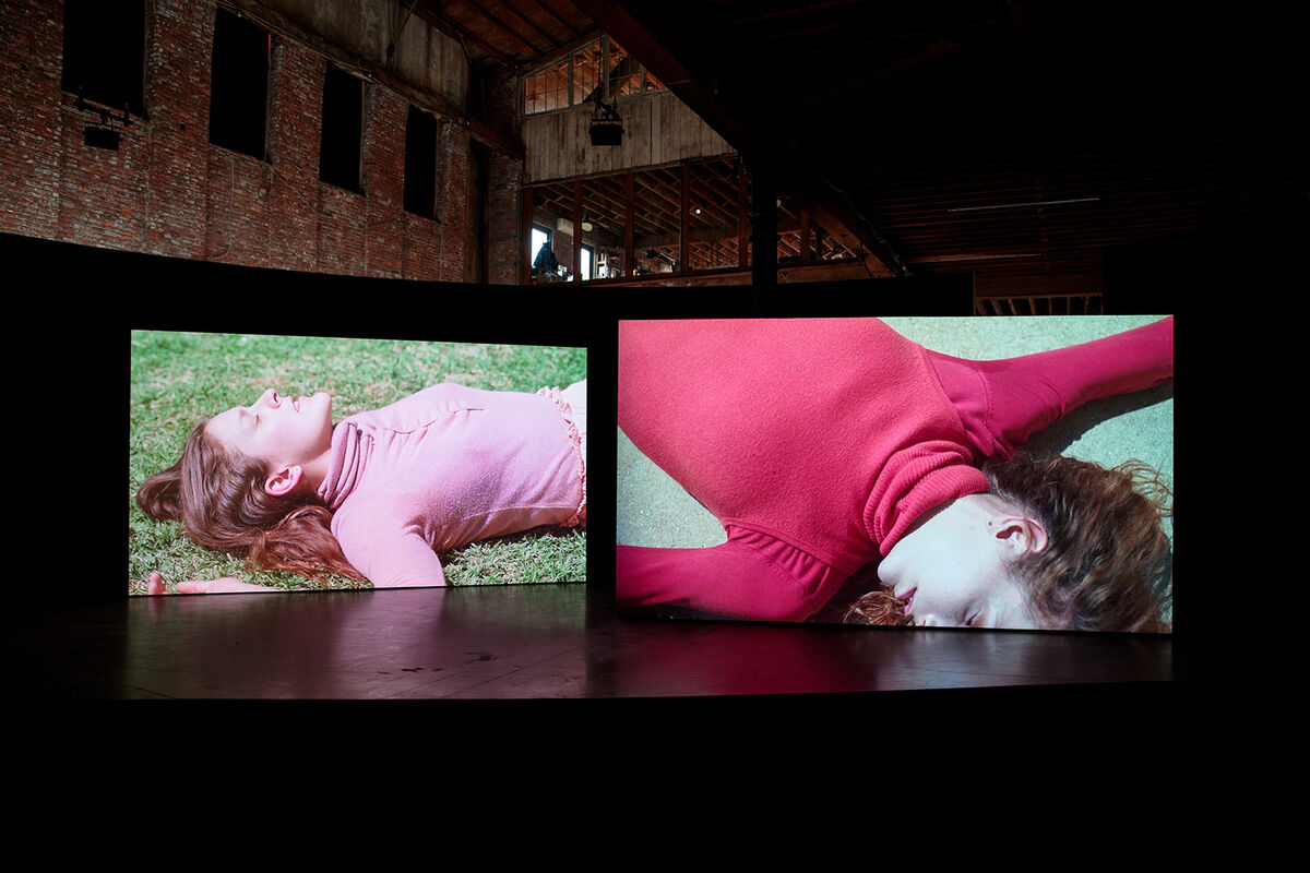 Installation view of Gerard & Kelly: CLOCKWORK at Pioneer Works, New York, 2018. © Walter Wlodarczyk. Courtesy of the artists.