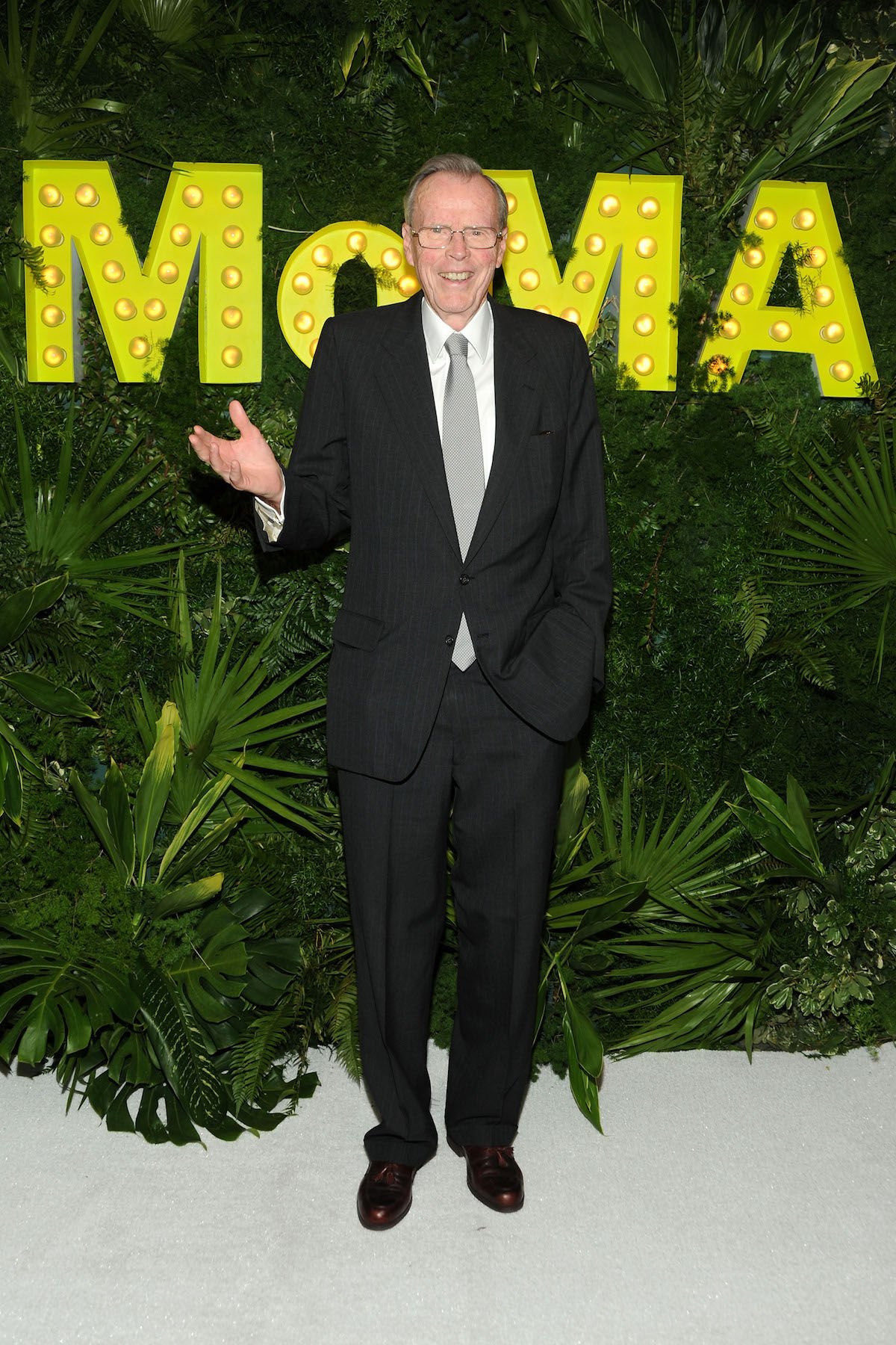 Collector and financier Donald Marron attends the 2013 Party In The Garden at the Museum of Modern Art. Photo by Ben Gabbe/Getty Images.