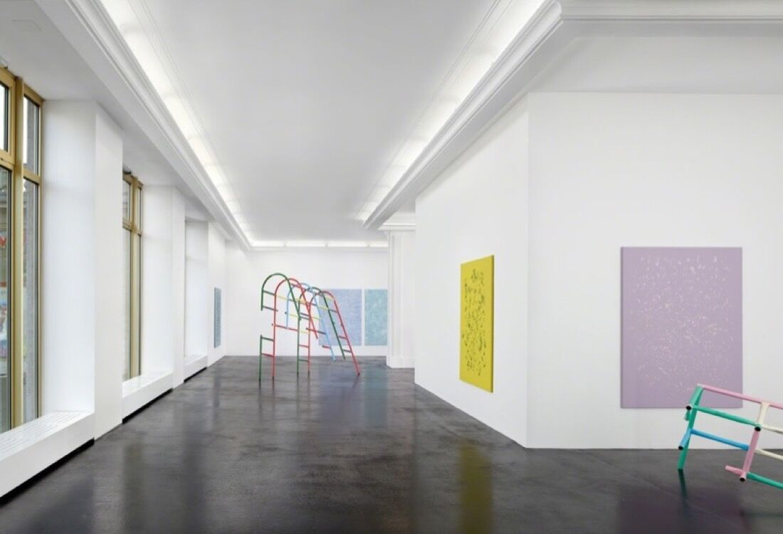 Installation view courtesy Peres Projects.