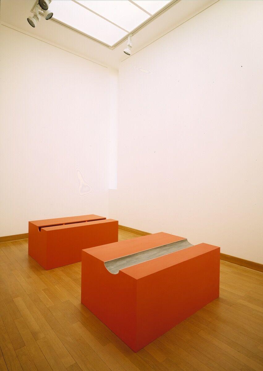 Donald Judd, Untitled, 1990. Donald Judd ©Judd Foundation. Courtesy of Galerie Gmurzynska.