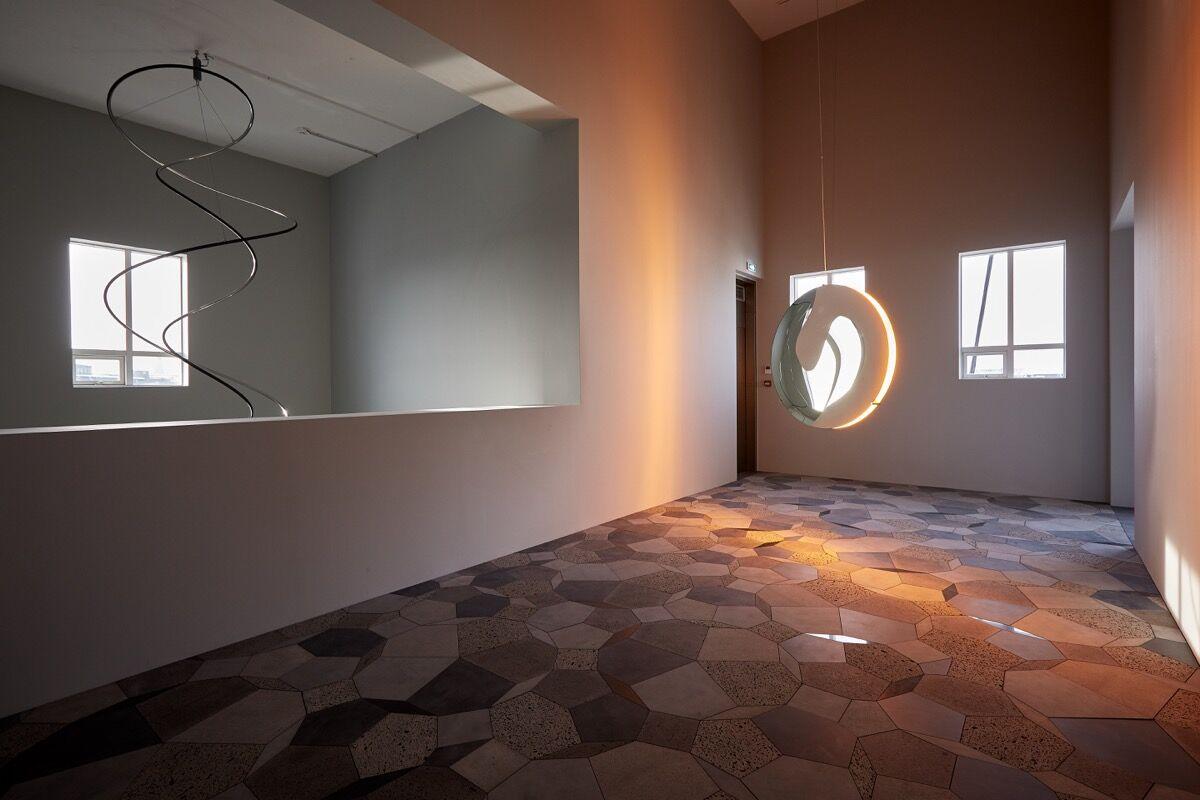 Installation view of work by Ólafur Elíasson. Courtesy of Stúdíó Ólafur Elíasson.