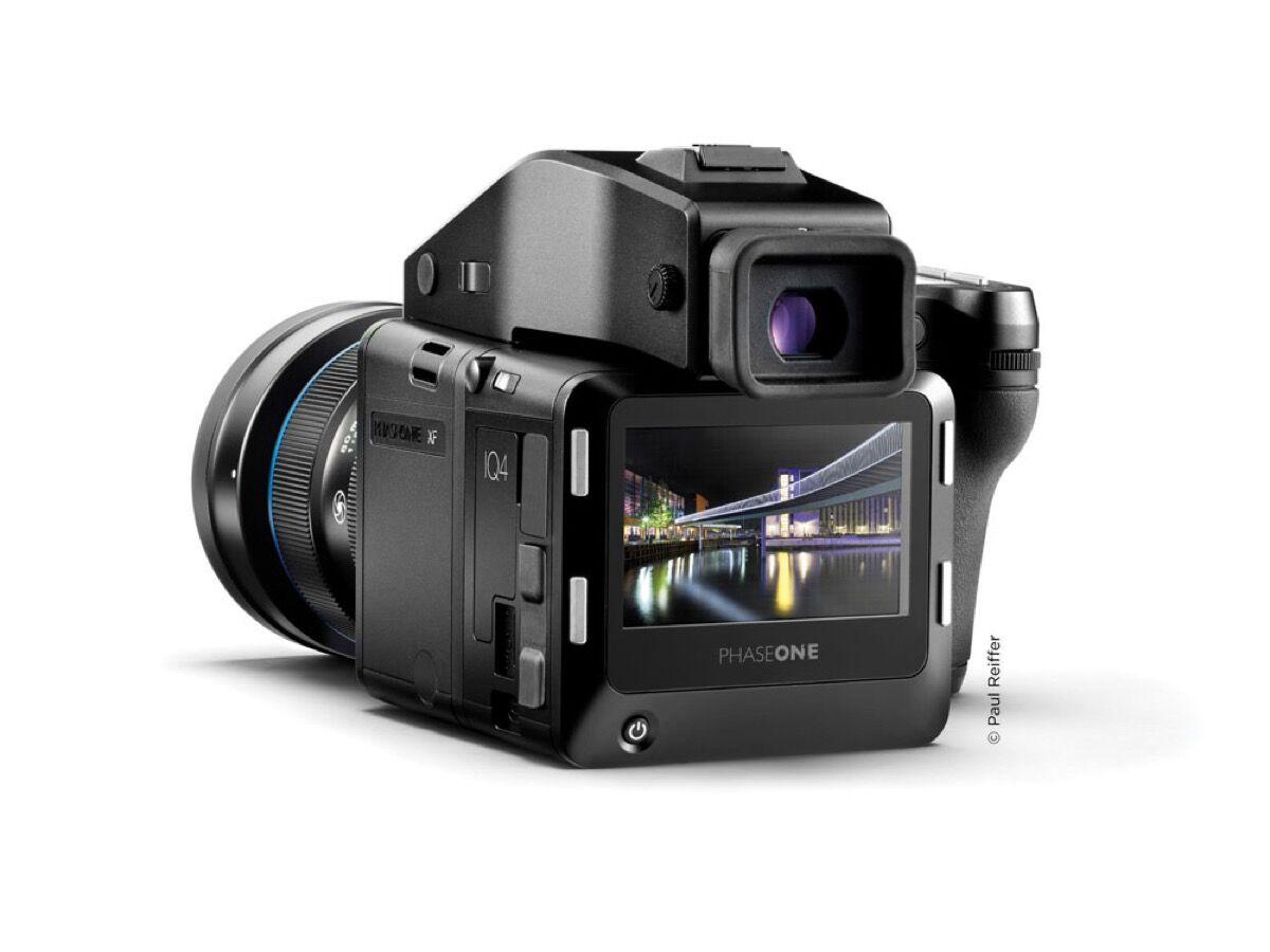 Product shot of Phase One XF IQ4 150MP. Courtesy of Phase One.