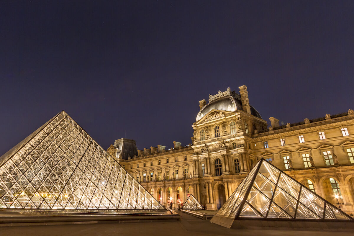 The Louvre. Photo by Ali Sabbagh, via Flickr.