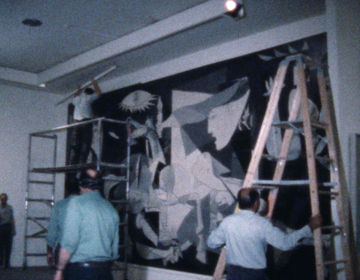 Anny Aviram and Kate Keller, The Departure of Guernica. 1981. Courtesy of the Museum of Modern Art.