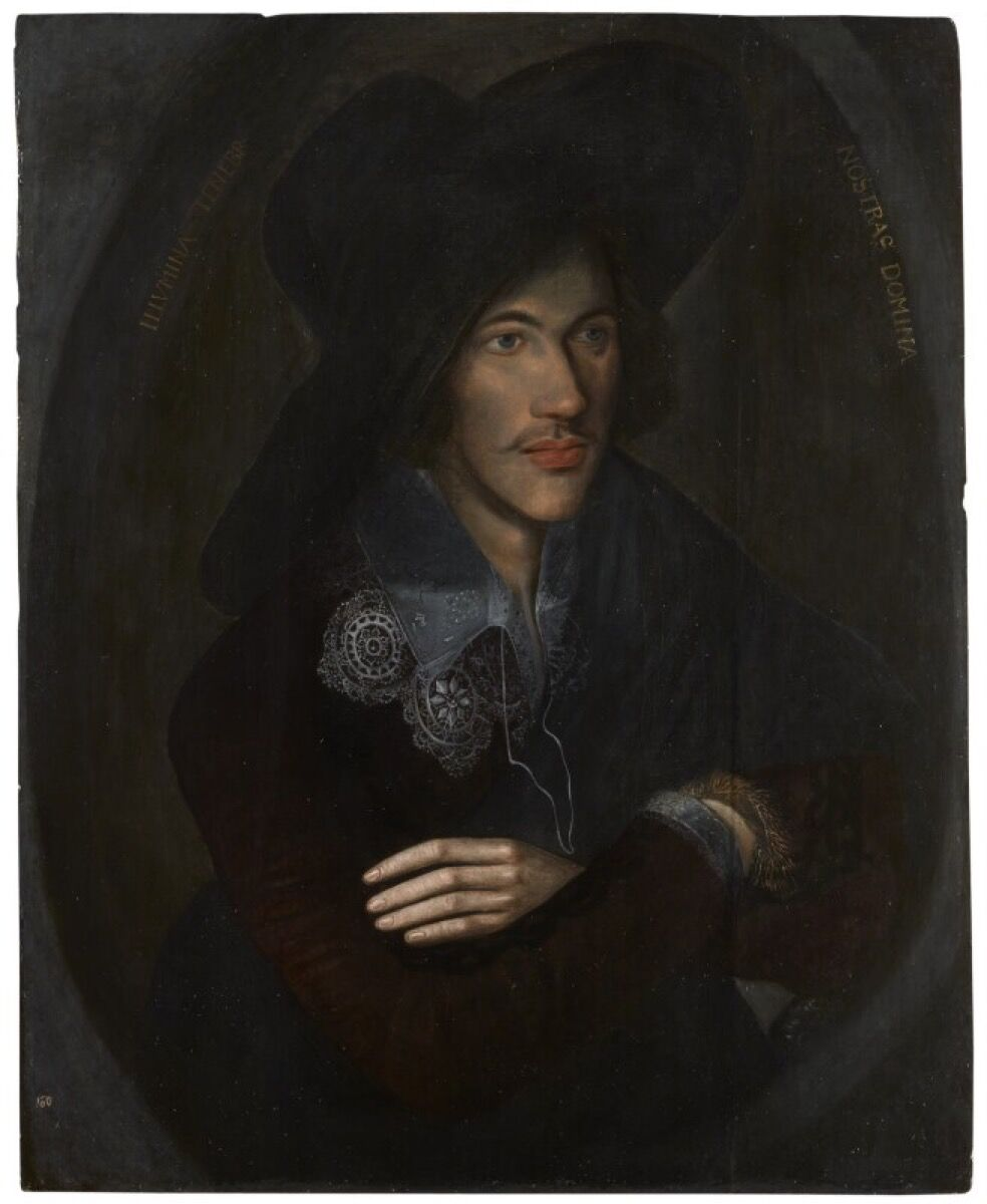 Unknown English artist, John Donne, ca. 1595. © National Portrait Gallery, London.