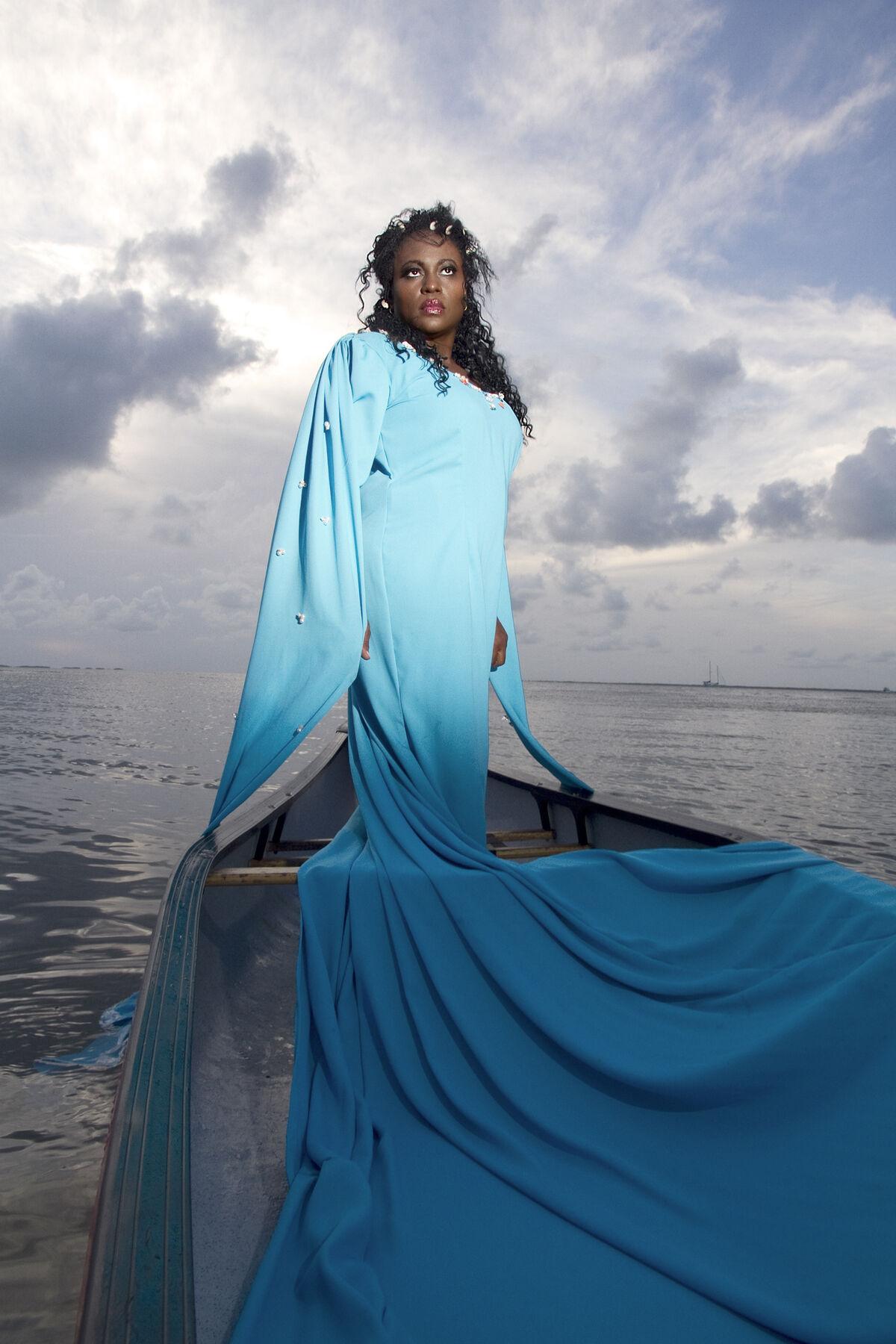 Elia Alba, The Orisha (Juana Valdes), 2015. Courtesy of the Shelley & Donald Rubin Foundation.