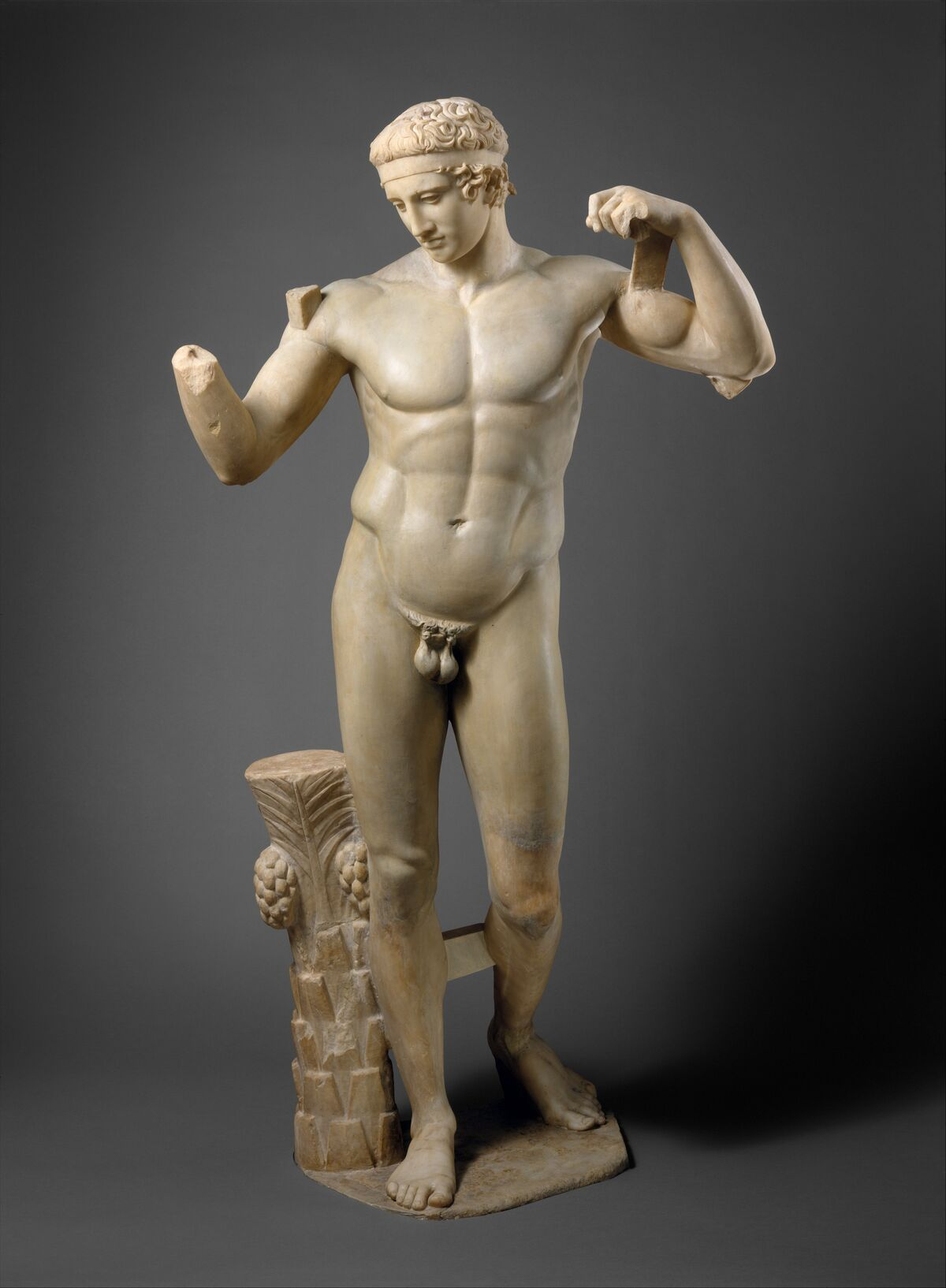 Copy of work attributed to Polykleitos, ca. A.D. 69–96, via the Metropolitan Museum of Art.