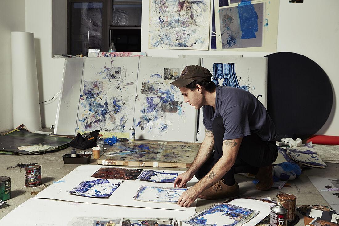Portrait of Ryan Foerster by Alex John Beck for Artsy.
