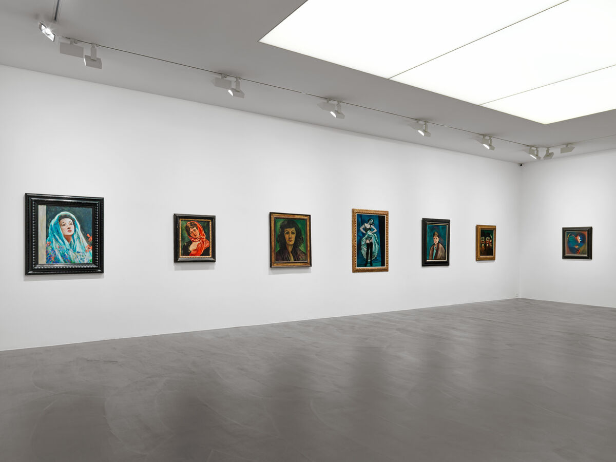 """Installation view of """"Francis Picabia: Paintings 1909-1950"""" at Galerie Andrea Caratsch, Zurich. Courtesy Galerie Andrea Caratsch."""