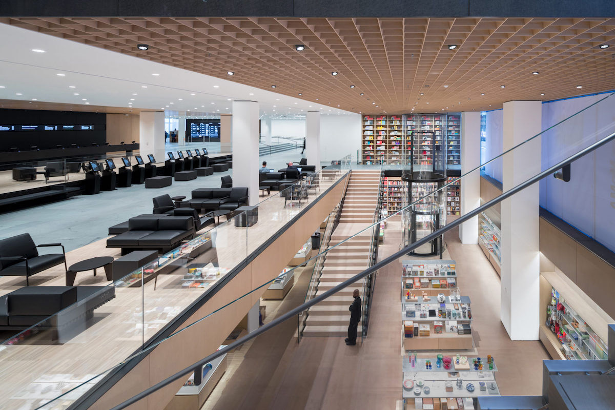 Interior view of the Museum of Modern Art, Flagship Museum Store. Photo by Iwan Baan, courtesy of MoMA.