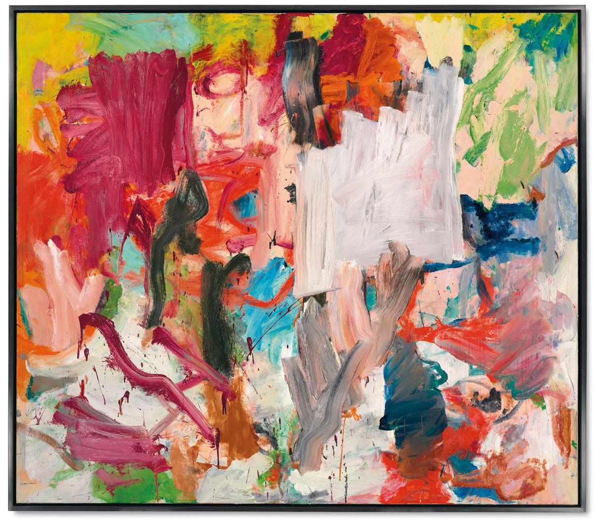 Willem de Kooning,Untitled XXV, 1977. Image: Christie's Images Ltd. 2016