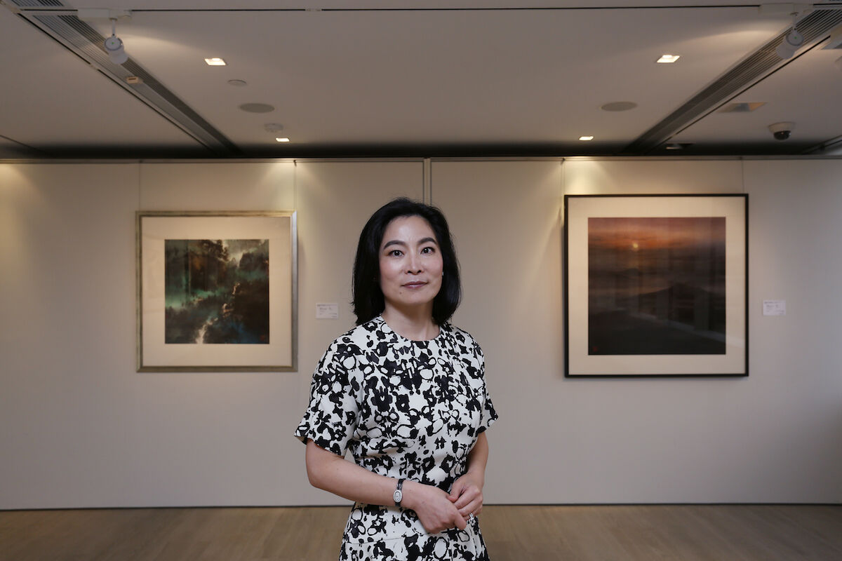 Rebecca Wei. Photo by Jonathan Wong/South China Morning Post via Getty Images.