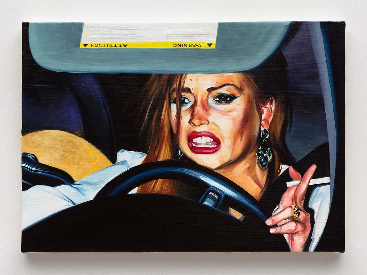 I M Obsessed With Sam Mckinniss S Painting Of Lindsay Lohan Artsy