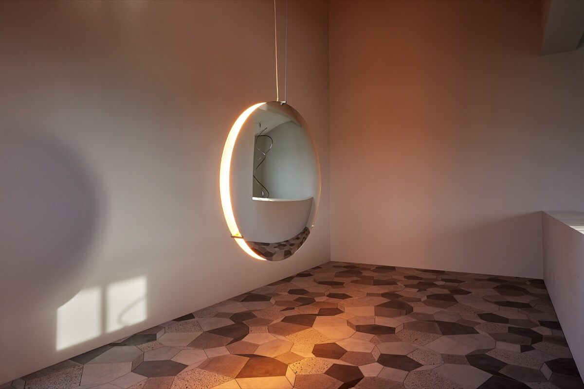 Installation view of Olafur Eliasson's studio courtesy of Studio Olafur Eliasson.