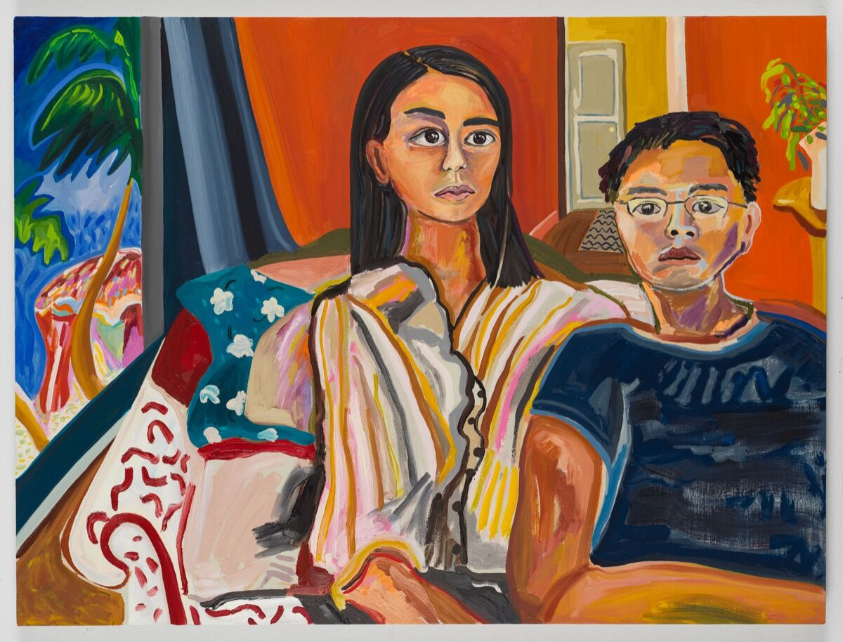 Susan Chen, Claudia & Chris, 2019%r�20. Photo by Adam Reich. Courtesy of the artist and Meredith Rosen Gallery.