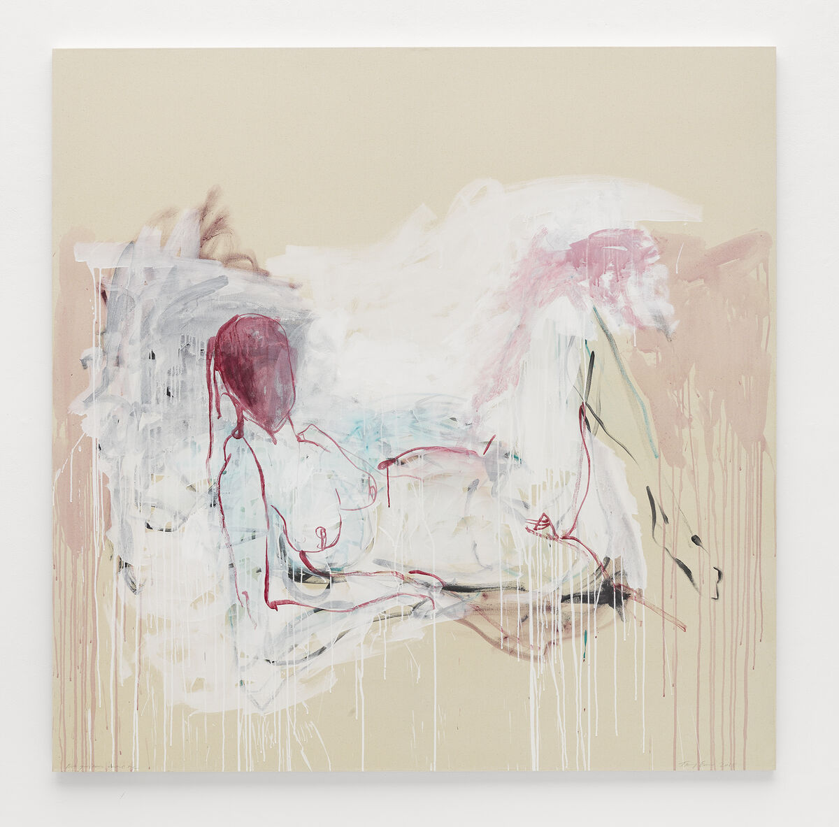 Tracey Emin, But you never wanted me, 2018. © Tracey Emin. All rights reserved, DACS 2017. Photo by Theo Christelis © White Cube. Courtesy of White Cube.