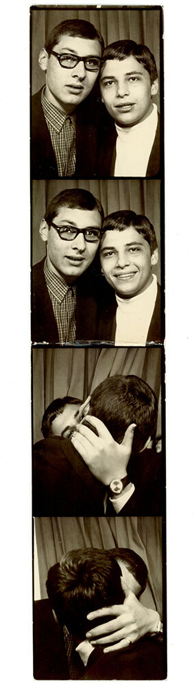 Photo booth, ca. 1950. Courtesy of the Collection of Barbara Levine / Project B.