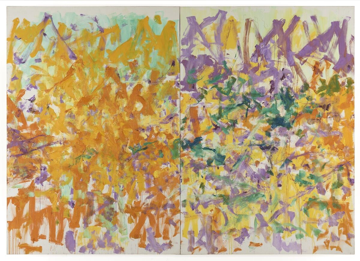Joan Mitchell, Untitled, 1979. Courtesy of Phillips.