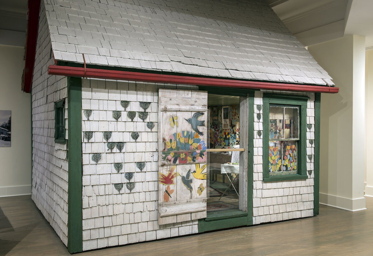Maud Lewis, Maud Lewis House. Collection of the Art Gallery of Nova Scotia. Photo by Steve Farmer. Courtesy of the Art Gallery of Nova Scotia.