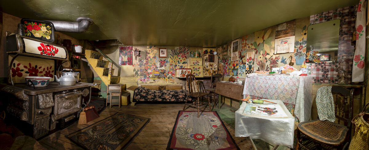Maud Lewis, Maud Lewis House. Photo by Steve Farmer. Courtesy of the Art Gallery of Nova Scotia.