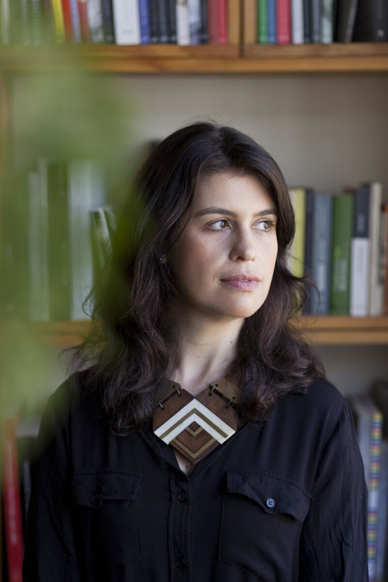 Portrait of Fernanda Lopes. Photo by Rafael Adorján. Courtesy of Fernanda Lopes.