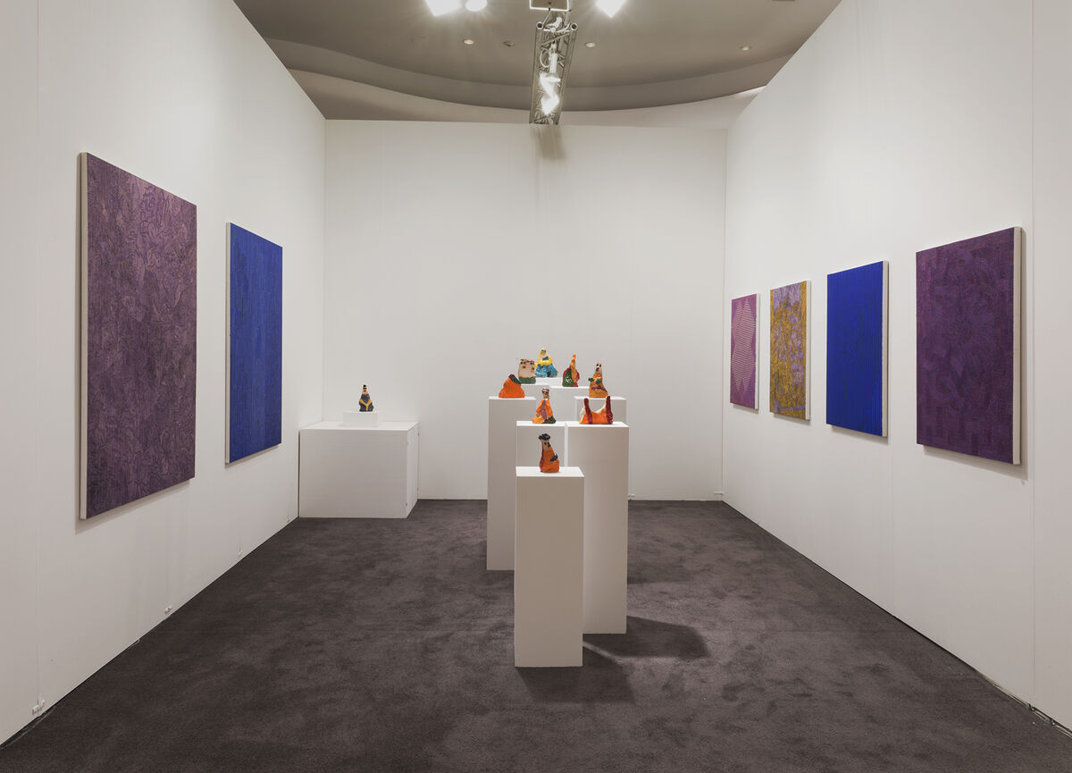 Installation view of Kerry Schuss's booth at NADA Miami Beach, 2015. Photo courtesy of Kerry Schuss.