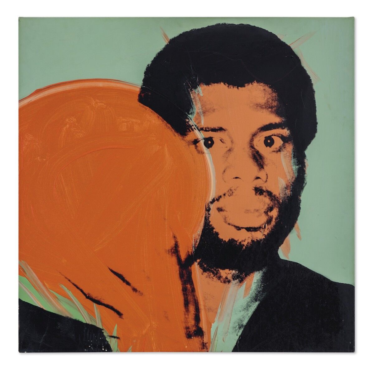 Andy Warhol, Kareem Abdul-Jabbar, 1977–79. Est. $300,000–$500,000. Courtesy Christie's Images Ltd.